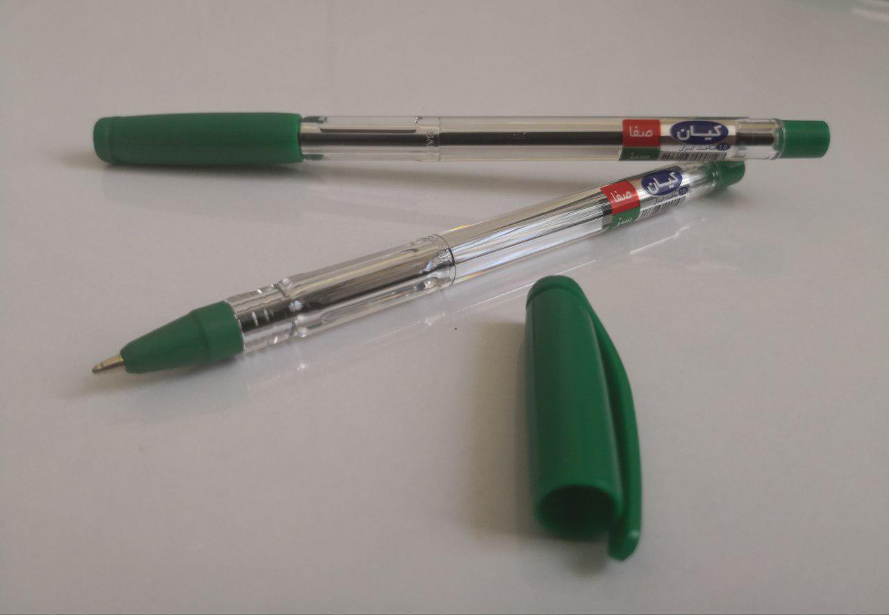 خودکار سبز و قرمز کیان