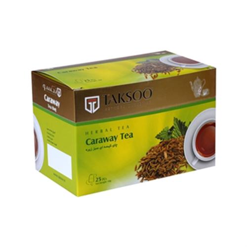 چای کیسه ای سبز زیره